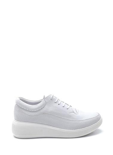 Derimod Kadın Ayakkabı (A261) Casual Beyaz